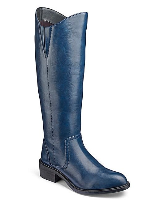 excellent quality sale online fashion 55 Heavenly Soles Boots EEE Fit Curvy Calf   J D Williams ...
