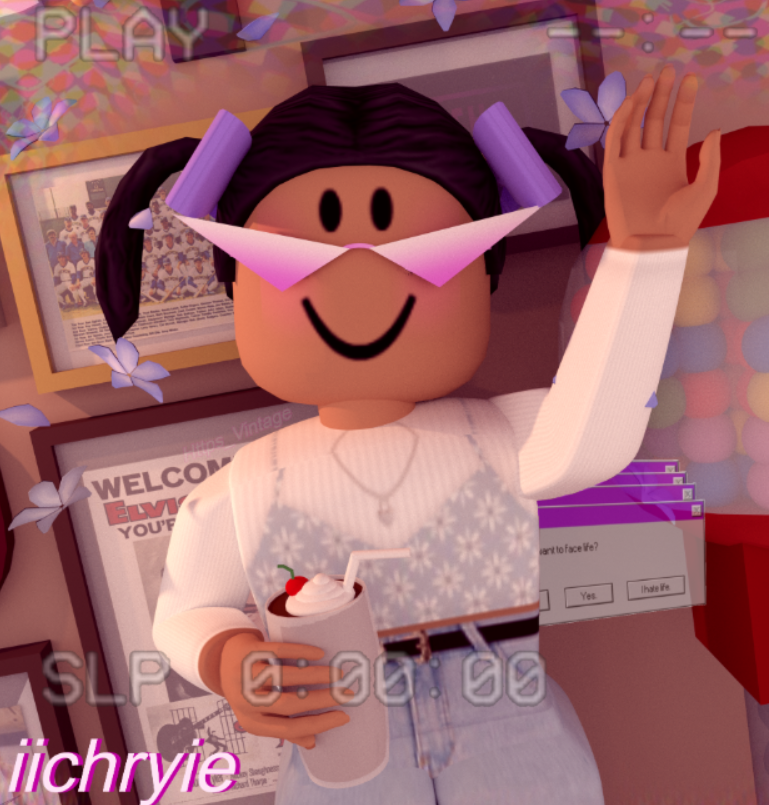 Aesthetic Roblox Tiktok Profiles