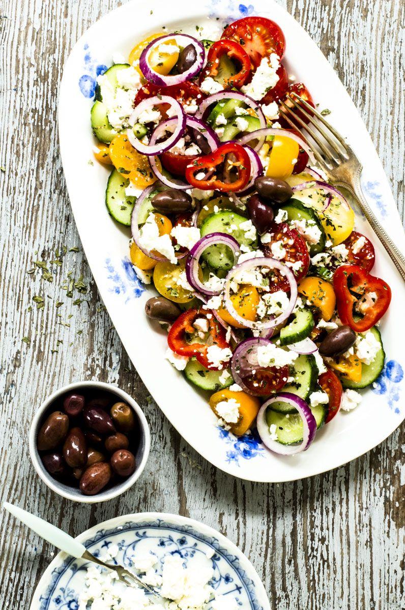7ffa2a741d3095b0479d578db4c03d26 - Rezepte Griechischer Salat