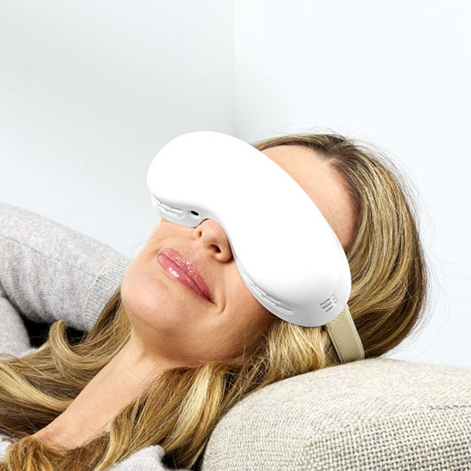 Heating and cooling eye therapy mask sharper image