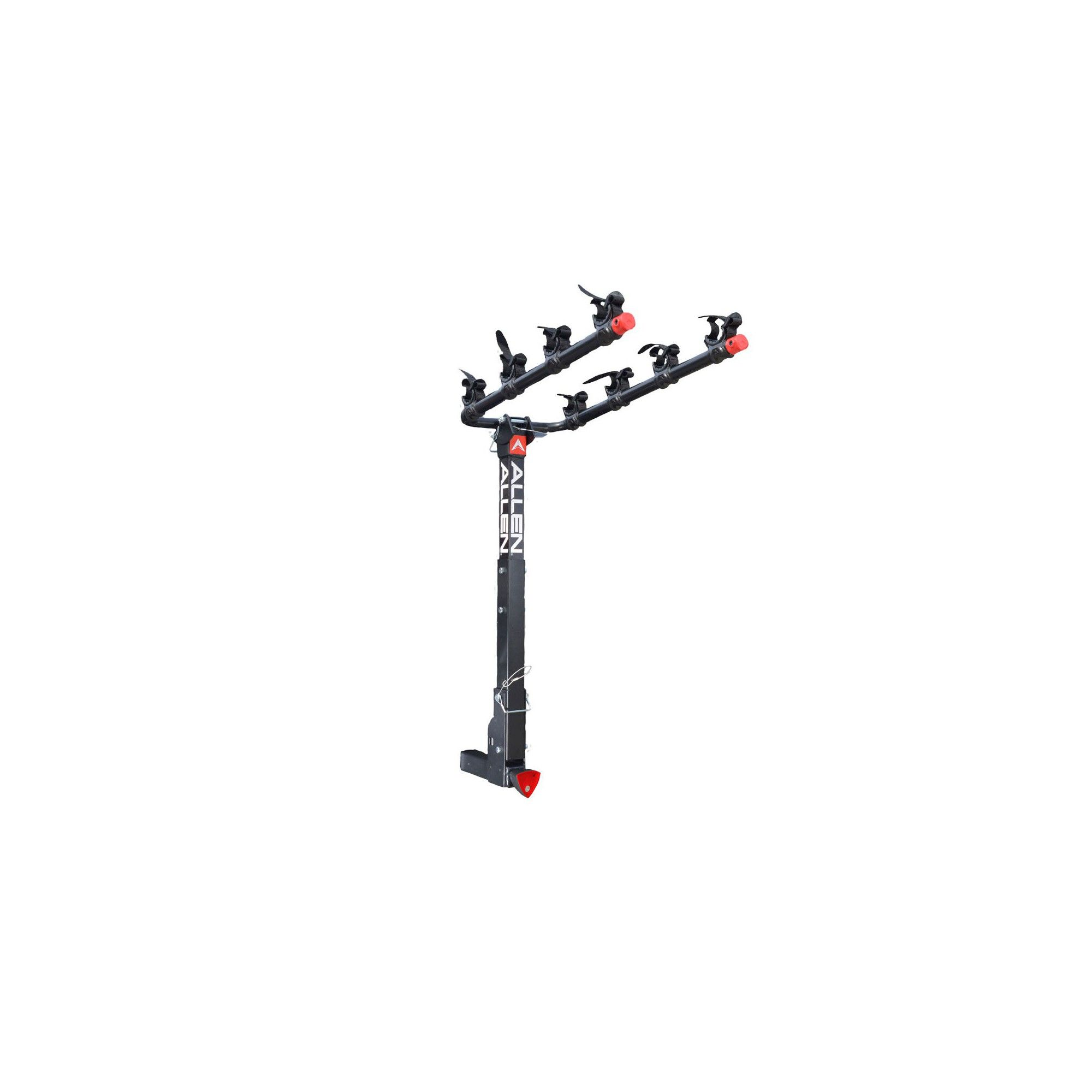 Allen Sports 2 Inch Lockable Hitch Deluxe 4 Bike Rack With