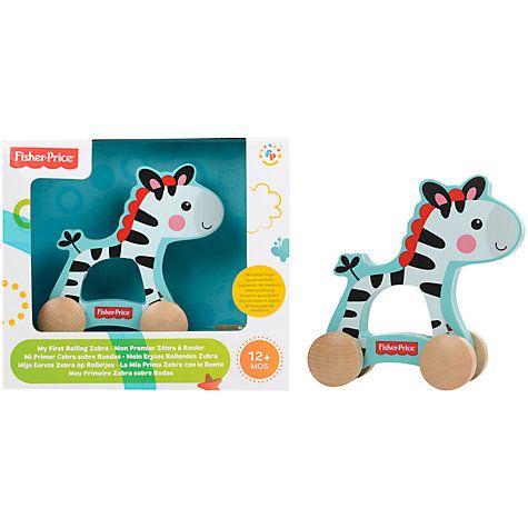 Buy Fisher-Price Zebra On Wheels Online at johnlewis.com