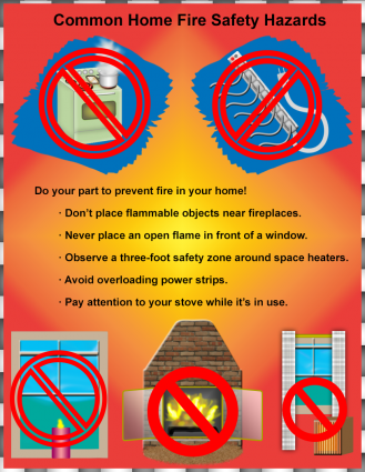 Free Fire Safety Posters Fire safety, Fire safety poster