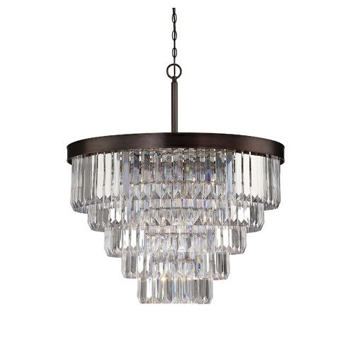 Found it at Joss & Main - Aidy 9-Light Crystal Chandelier