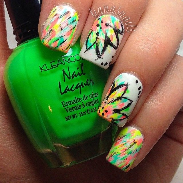 Instagram photo by lianasnails #nail #nails #nailart | Hair/nails ...