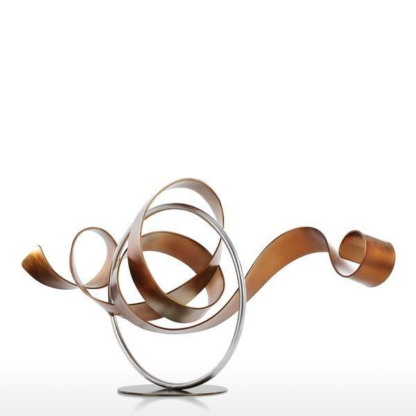Modern Home Decorative Object Metal Craft Sculpture