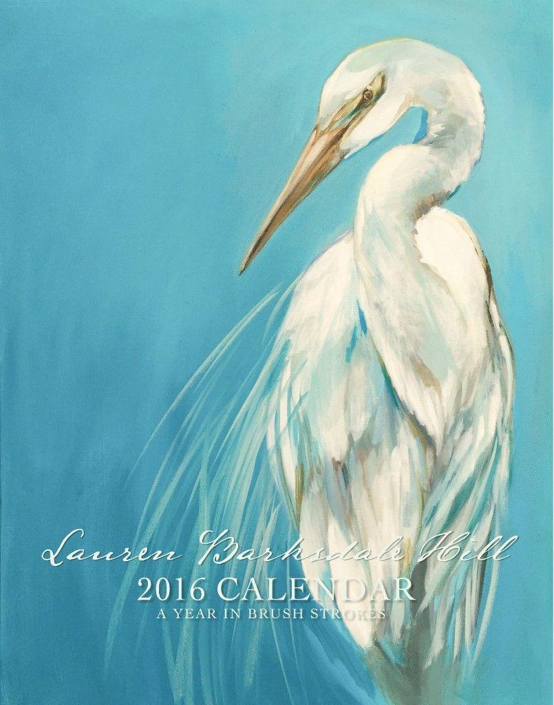 Lauren Barksdale Hill 2016 Calendar