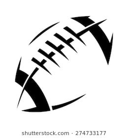 Image Result For Football Laces Football Logo Design Football Silhouette Football Tattoo