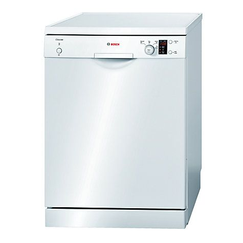 Bosch Sms40c02gb Freestanding Dishwasher White Freestanding