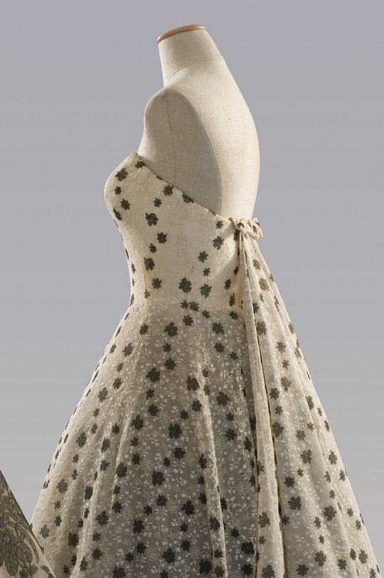 Dress worn by Audrey Hepburn in 'Funny Face', designed by Hubert de Givenchy.
