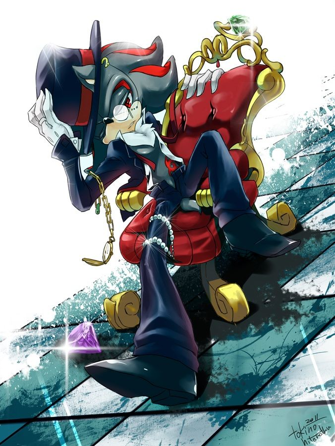 No larger size available Shadow the hedgehog, Sonic art