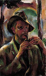 Vilmos Aba-Novák (1894-1941) was een Hongaars kunstschilder en graficus. Hij wordt gerekend tot het realisme, maar met sterke invloeden van het expressionisme. Hij studeerde van 1912 tot 1914 in Boedapest. Van 1921 tot 1923 werkte hij in de door schilders uit München opgerichtte kunstenaarskolonie in Roemenie. Deze groep werkte in een realistische, naturalistische stijl. Doel was het creëren van een nieuwe artistieke esthetiek waarin het gevoel van het volk werd weerspiegeld.
