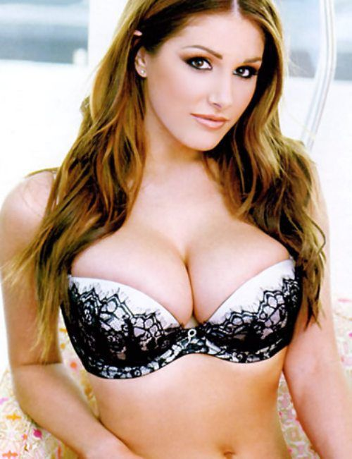 Beautiful women with large breasts