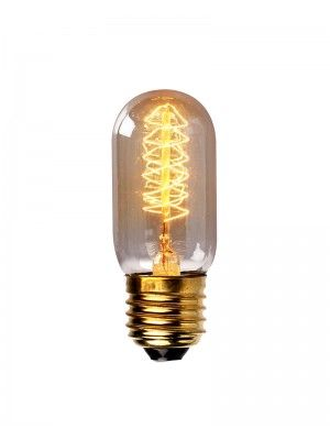 Edison Spiral Filament Vintage 40W Light Bulb $099Pc  Bulb Endearing Kitchen Light Bulbs Inspiration Design