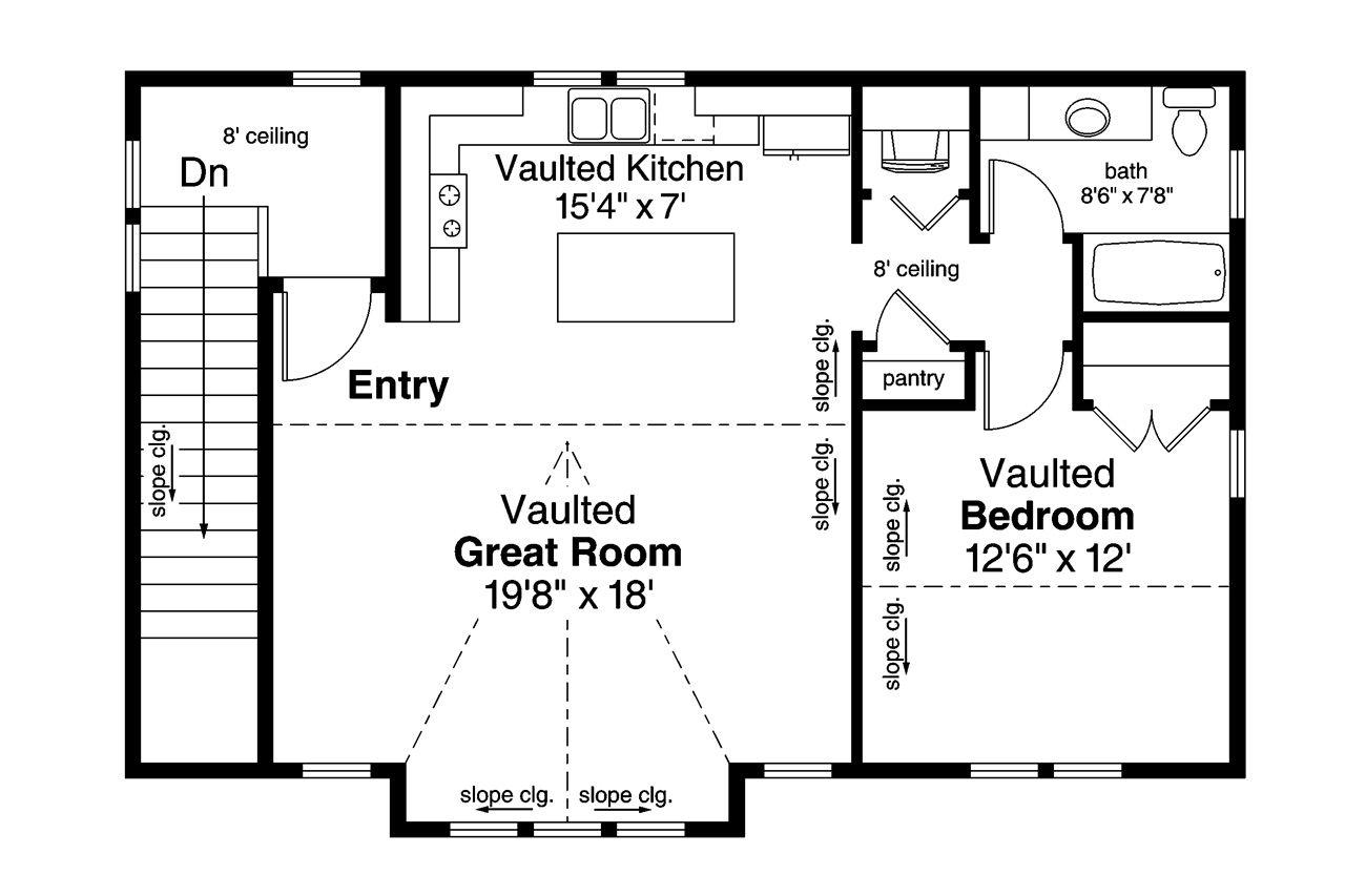 house plan 03500809  1710 square feet 1 bedroom 1