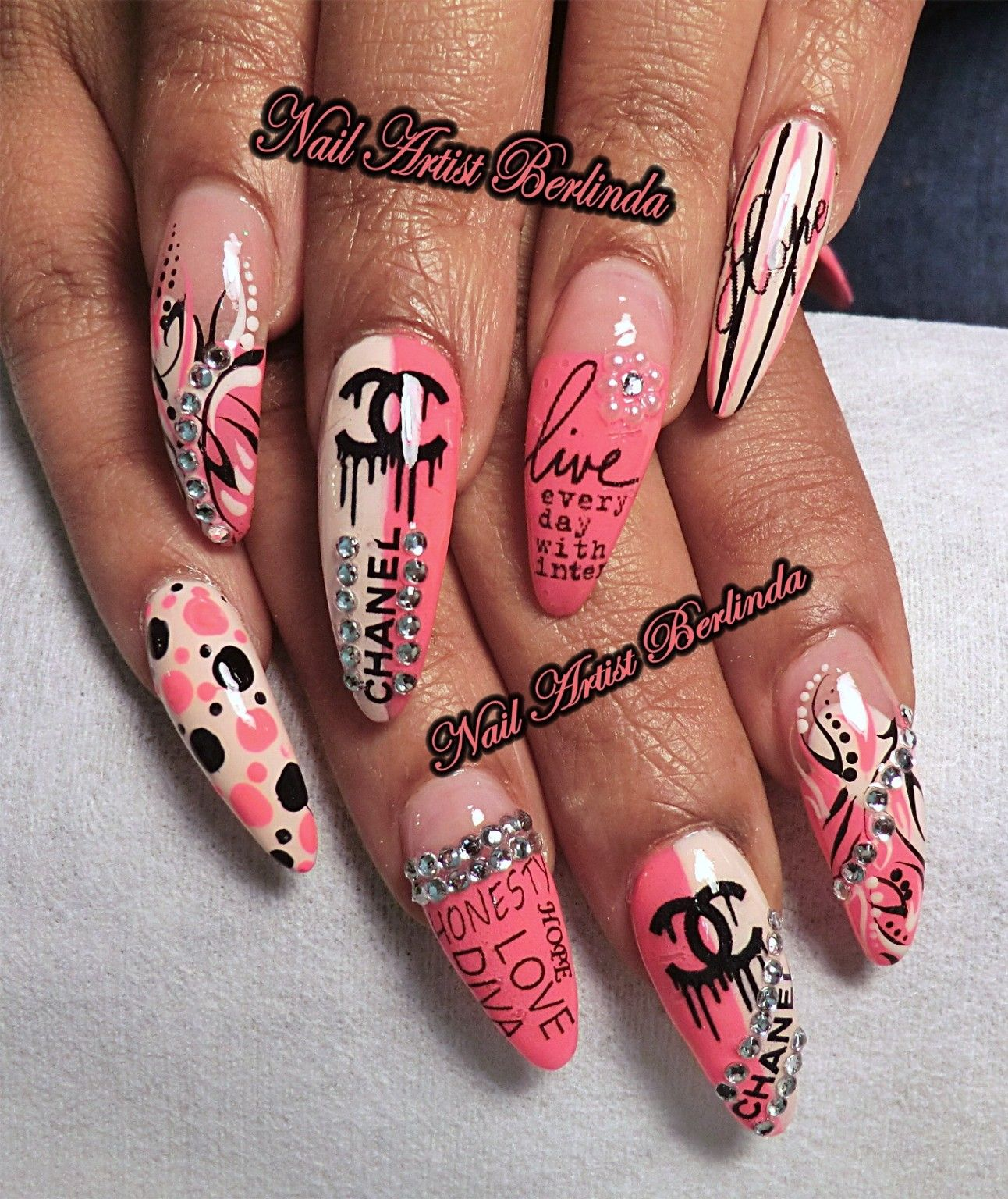 Dripping Chanel, Inspirational Words - www.nailartistberlinda.com ...