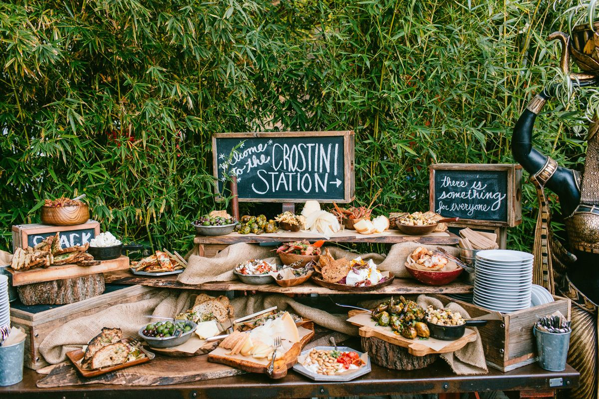 Mesas de snacks y postres originales para tu boda - Comodas originales ...