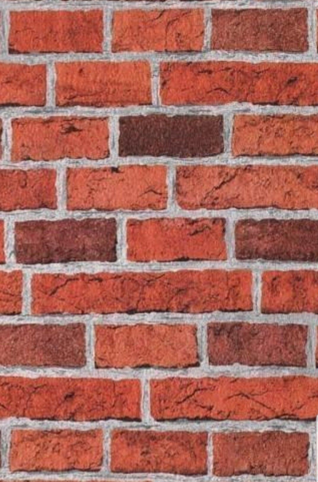 Print and stick on (With images) Brick effect wallpaper
