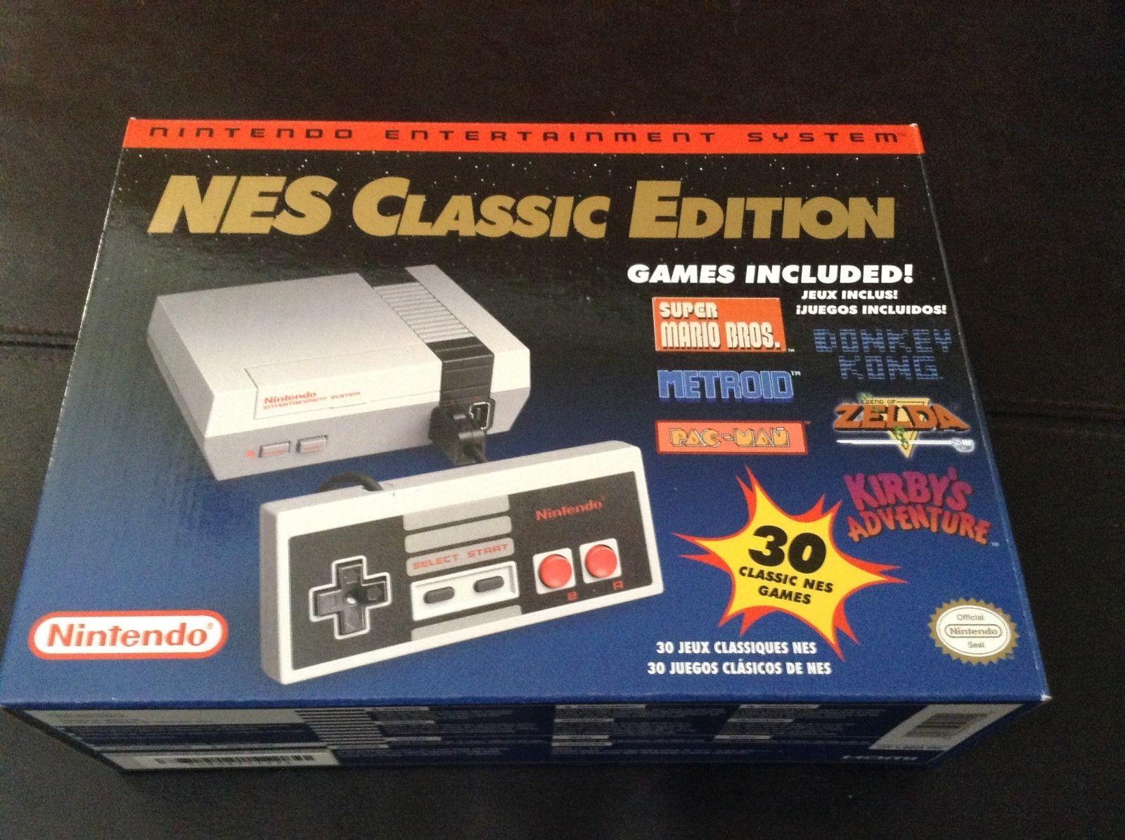 Brand New Nintendo Nes Classic Edition Mini Console 100