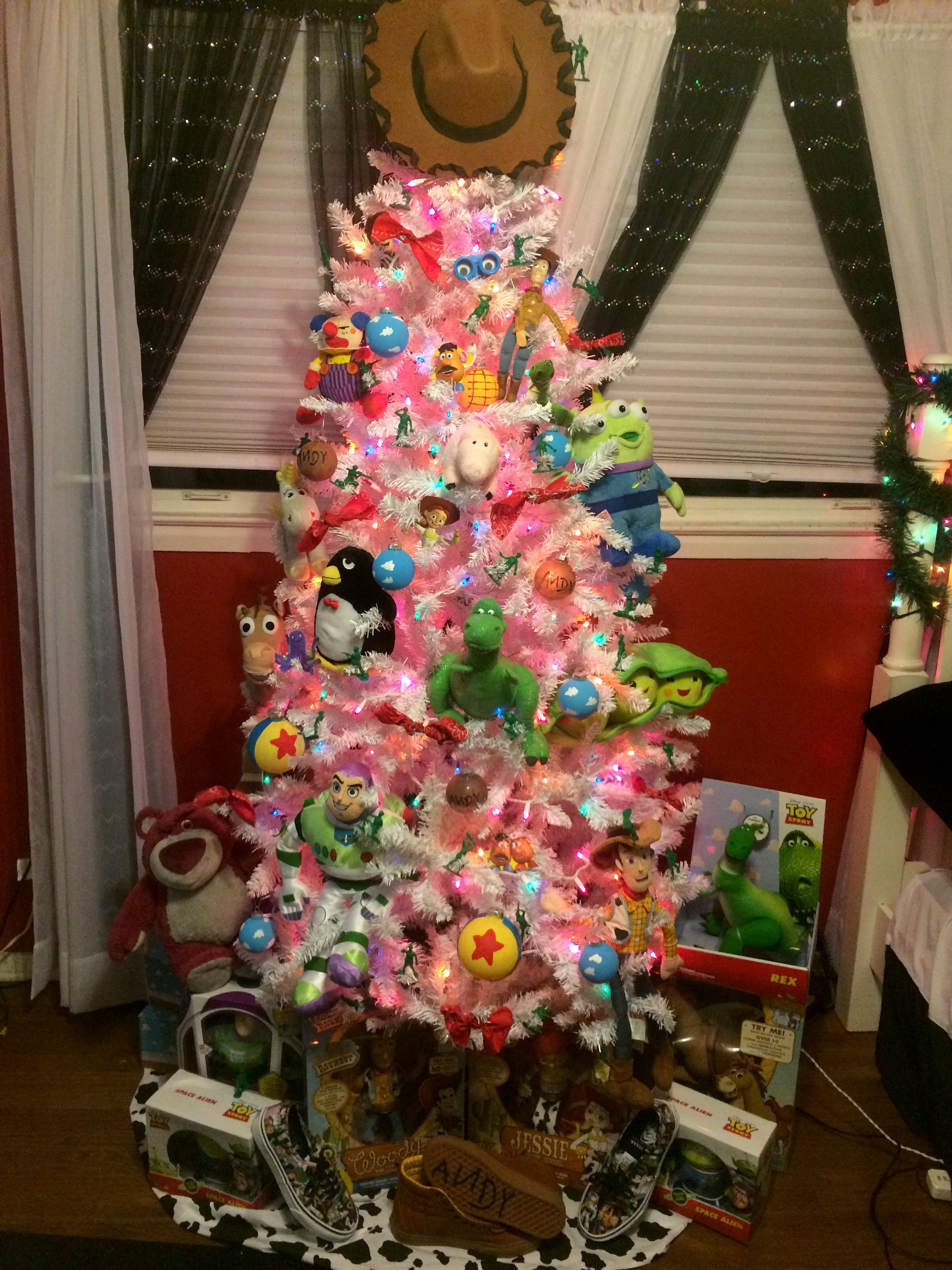 Toy Story Tree Christmas Toy Story Christmas Tree Toy Disney Christmas Decorations Disney Christmas Tree
