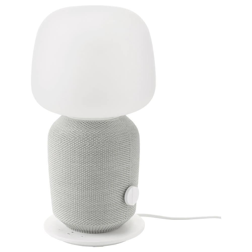 SYMFONISK Table lamp with WiFi speaker white Table