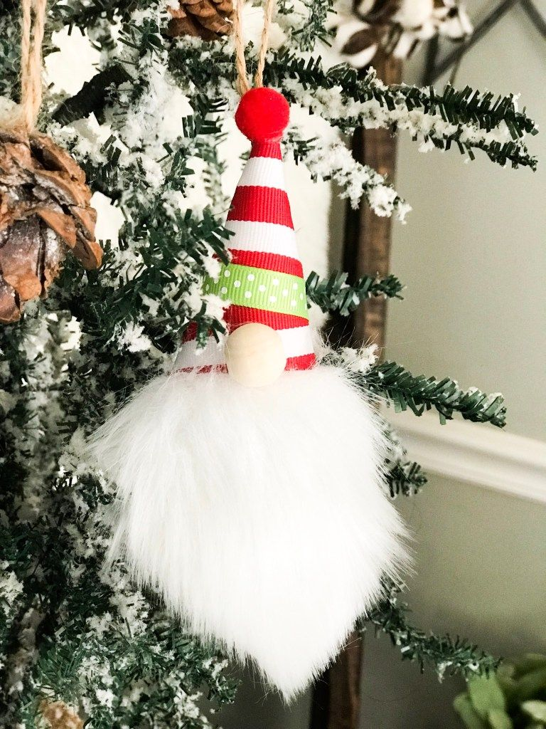 How To Make Mini Gnome Ornaments Re Fabbed Diy Christmas Ornaments Mini Christmas Ornaments Diy Christmas Ornaments Easy