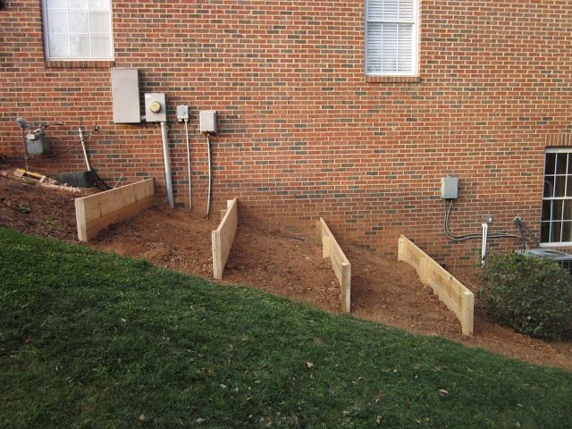 Raised Beds On A Slope For The Home Pinterest Sloped