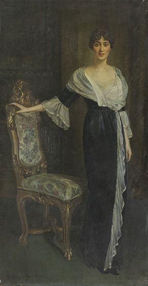Эдуардо Джойя (1862 - 1937). Портрет Ирины Михайловны ...