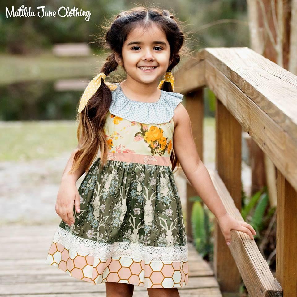 43bfe9c6d Matilda Jane Platinum Honey Bunny Puffer Dress size 4