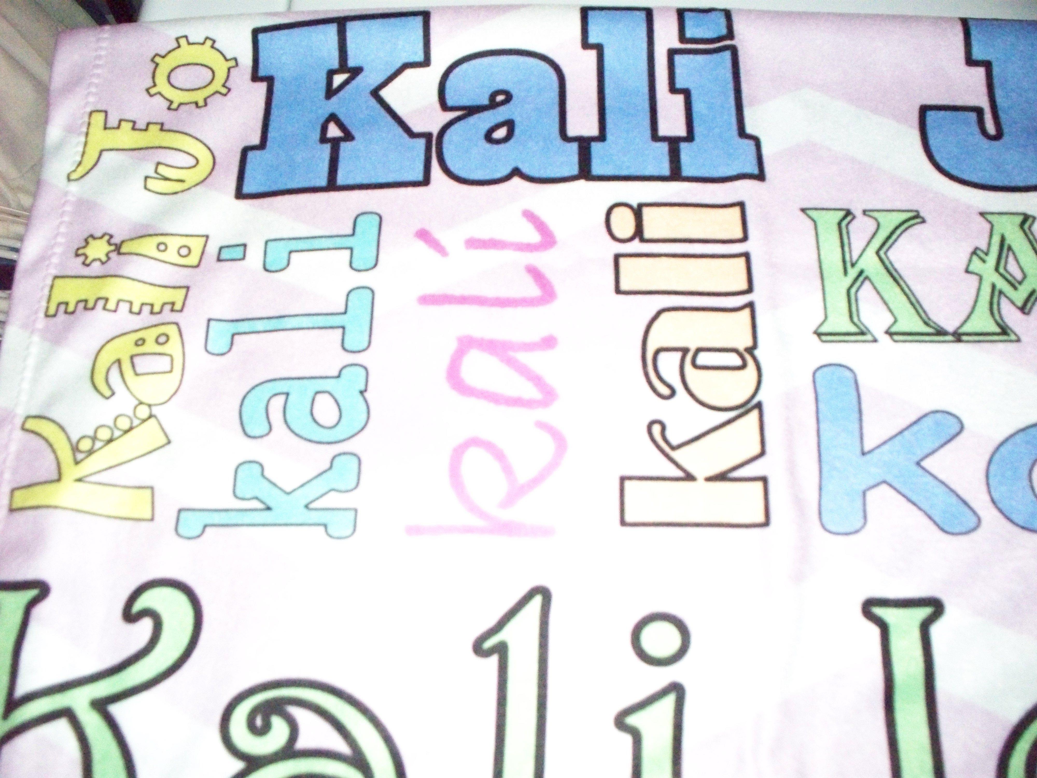 Custom Fleece for Kali - Sew biZ STUDIO