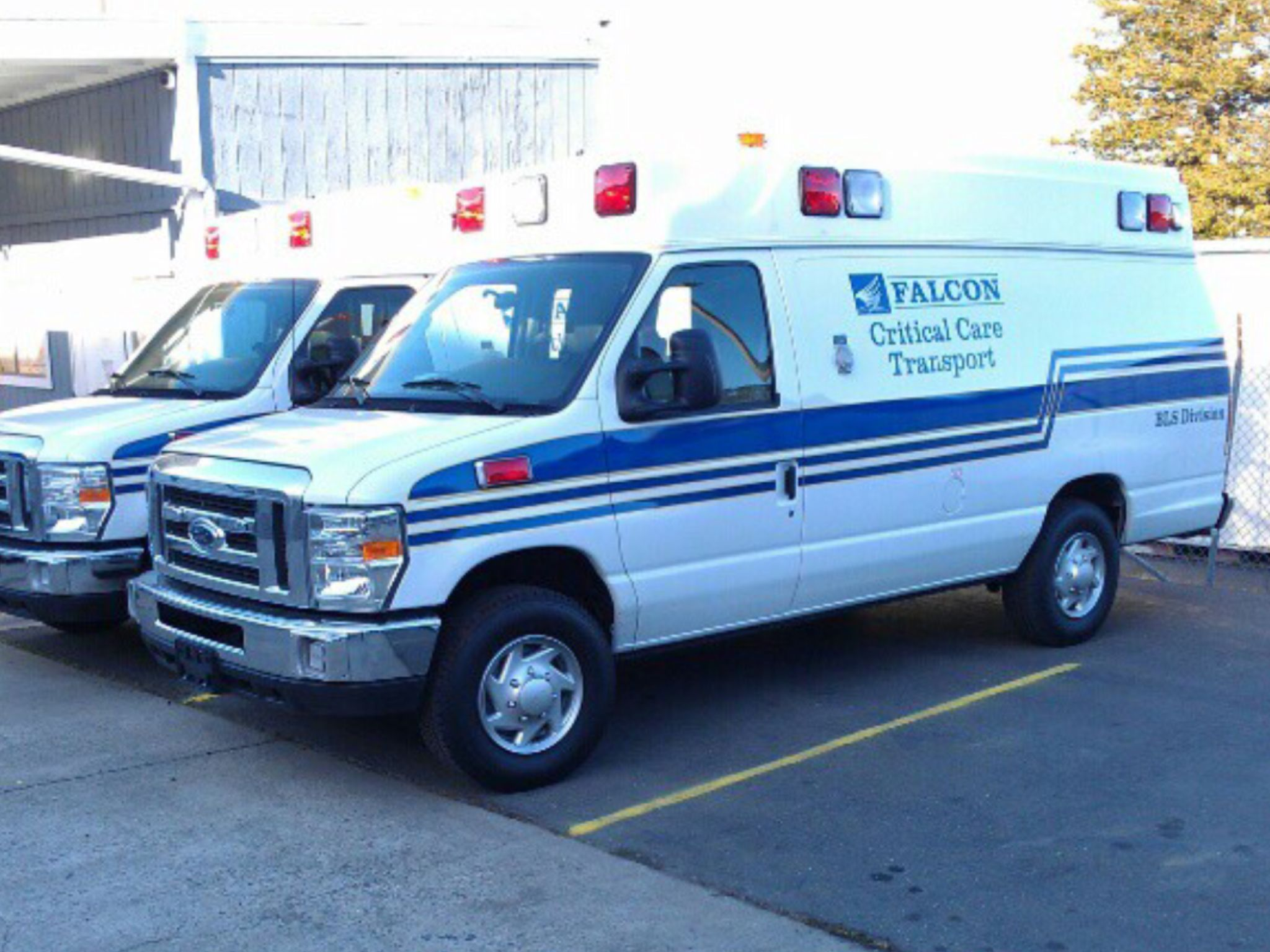 Falcon ambulance e350 ford econoline
