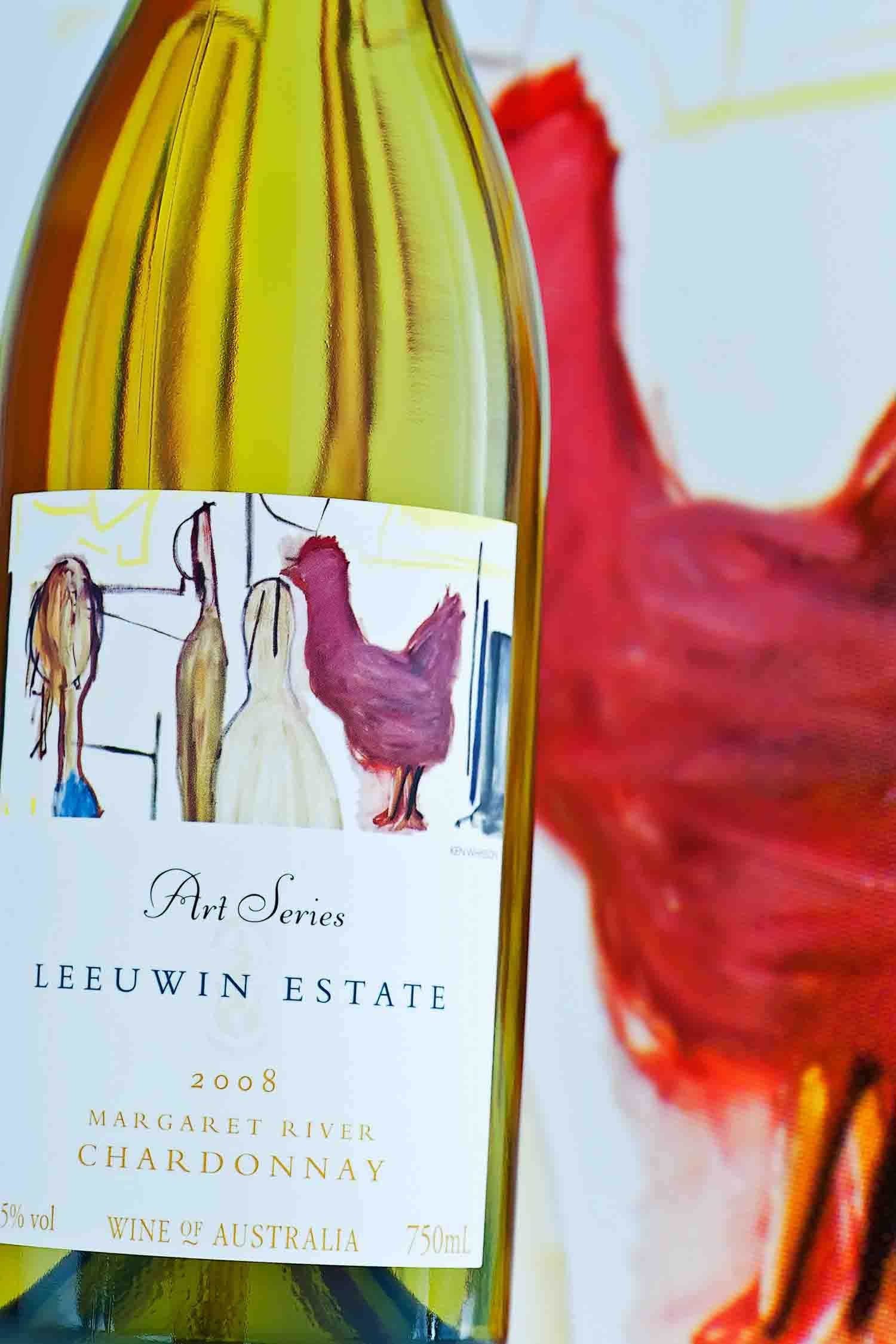 Leeuwin Estate Art Series Chardonnay 2008 Margaret River Australia Wine List Wine And Spirits Wine Bottle
