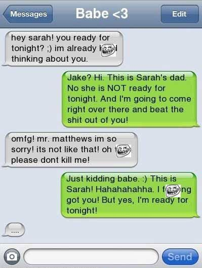 A Player Got Played Funny Smart Phone Jokes Funny Texts Awkward