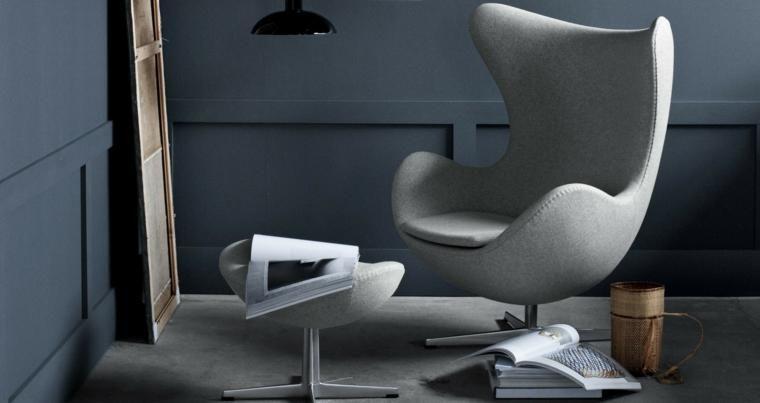Möbel Design Ikonen Stuhl Ei Von Arne Jacobsen Möbeldesign Egg