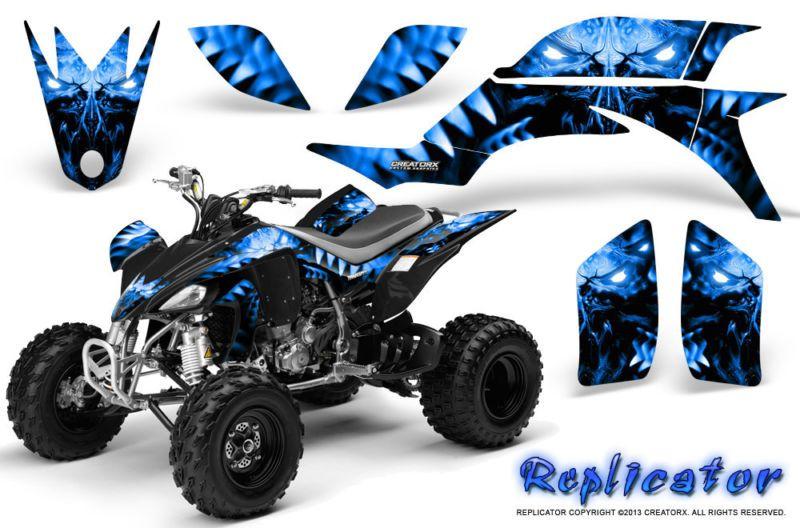 Yamaha yfz 450 03 13 atv graphics kit decals stickers creatorx rcblb creatorx