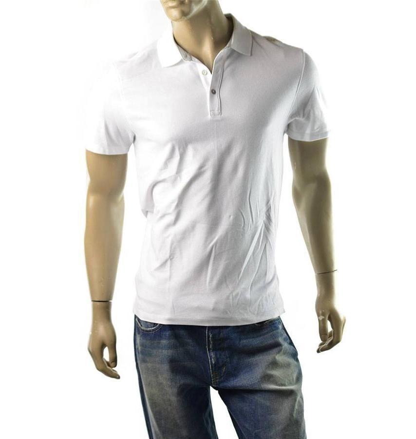 Calvin klein polo shirt mens shoulder logo short sleeve t