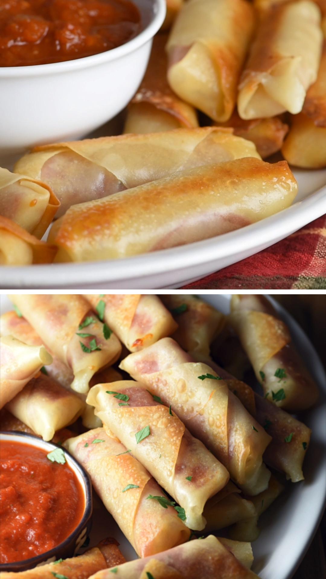 Baked Salami Mozzarella Bites