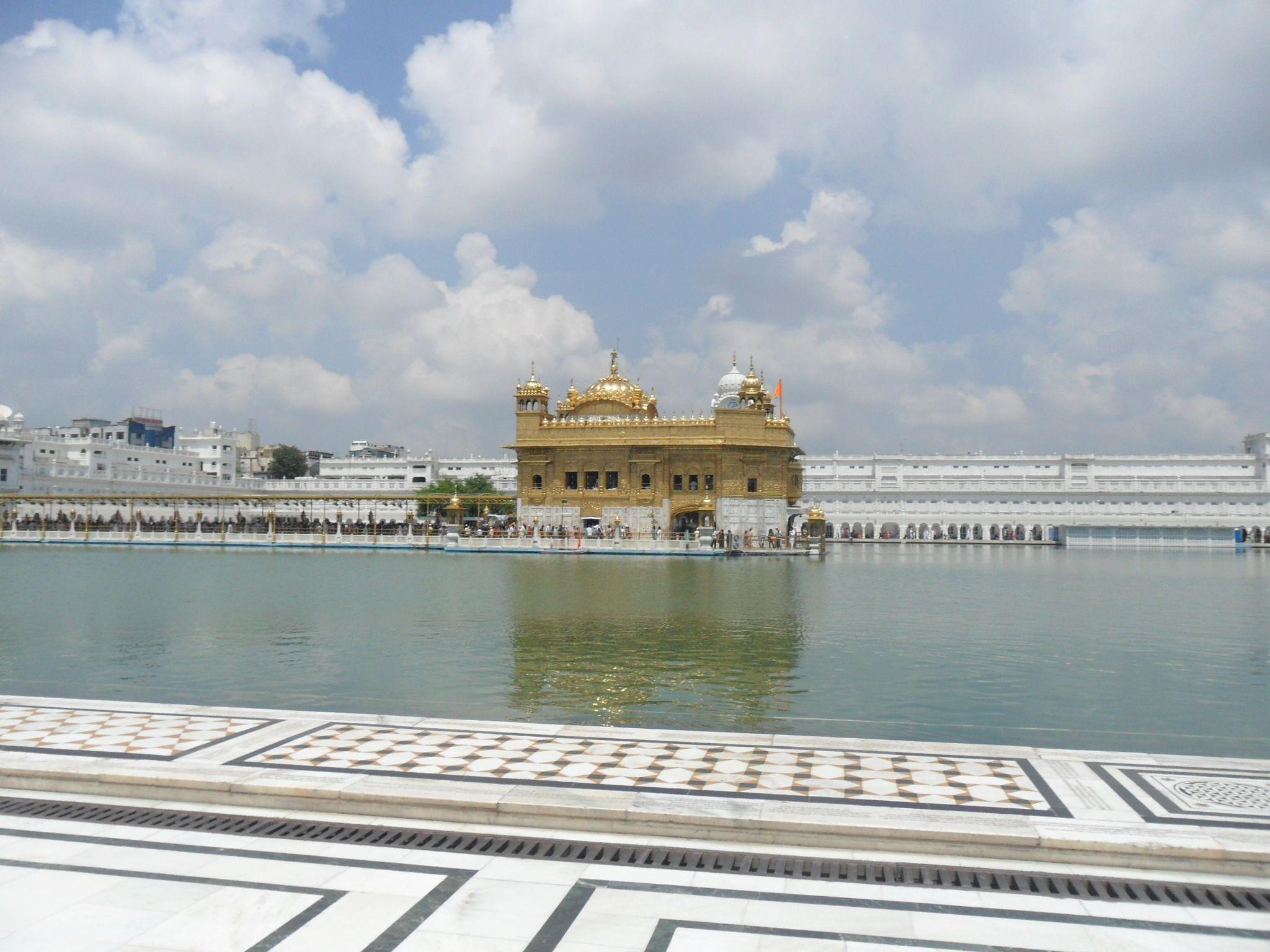 Golden Temple en Amristar, India. Un sitio increíble.