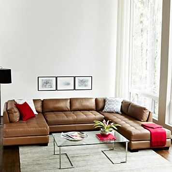 Bloomingdale S Becker 3 Piece Sectional Furniture More For The Home