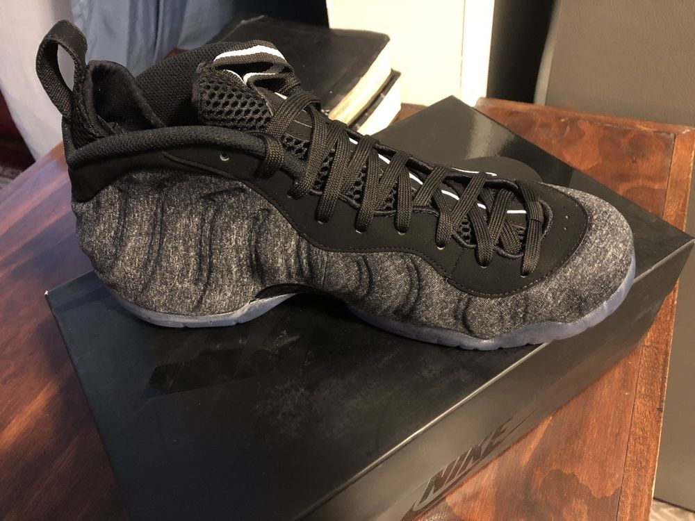 ccd191f51e4 Nike Air Foamposite Pro Wool Dark Grey Heather Black 624041-007 Men s Size  8.5  fashion  clothing  shoes  accessories  mensshoes  athleticshoes (ebay  link)