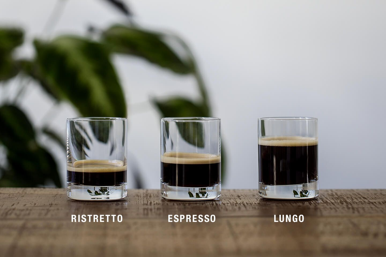 Espresso, Ristretto, Lungo – alles dasselbe? - Café Royal