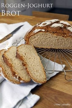 Roggen Joghurt Brot Brot Selber Backen Brot Backen Und Brot Selber Backen Rezept