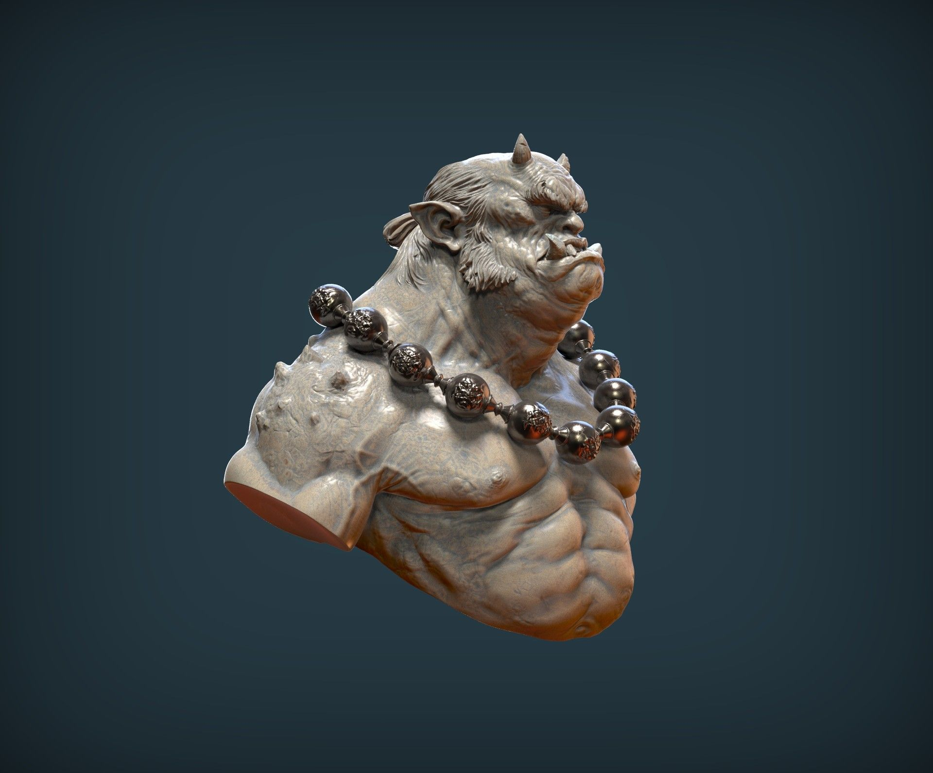 ArtStation - Makoto, the guardian (Bust), Raul Garcia Latorre ...
