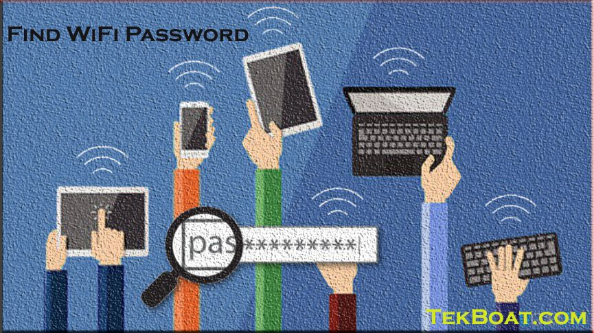 how to find WiFi Password on Windows 10,find WiFi password