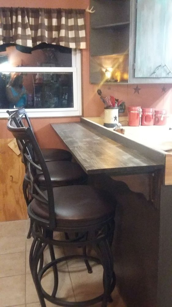 Diy Breakfast Bar On A Budget Quick And Easy Diy Breakfast Bar Diy Breakfast Kitchen Bar