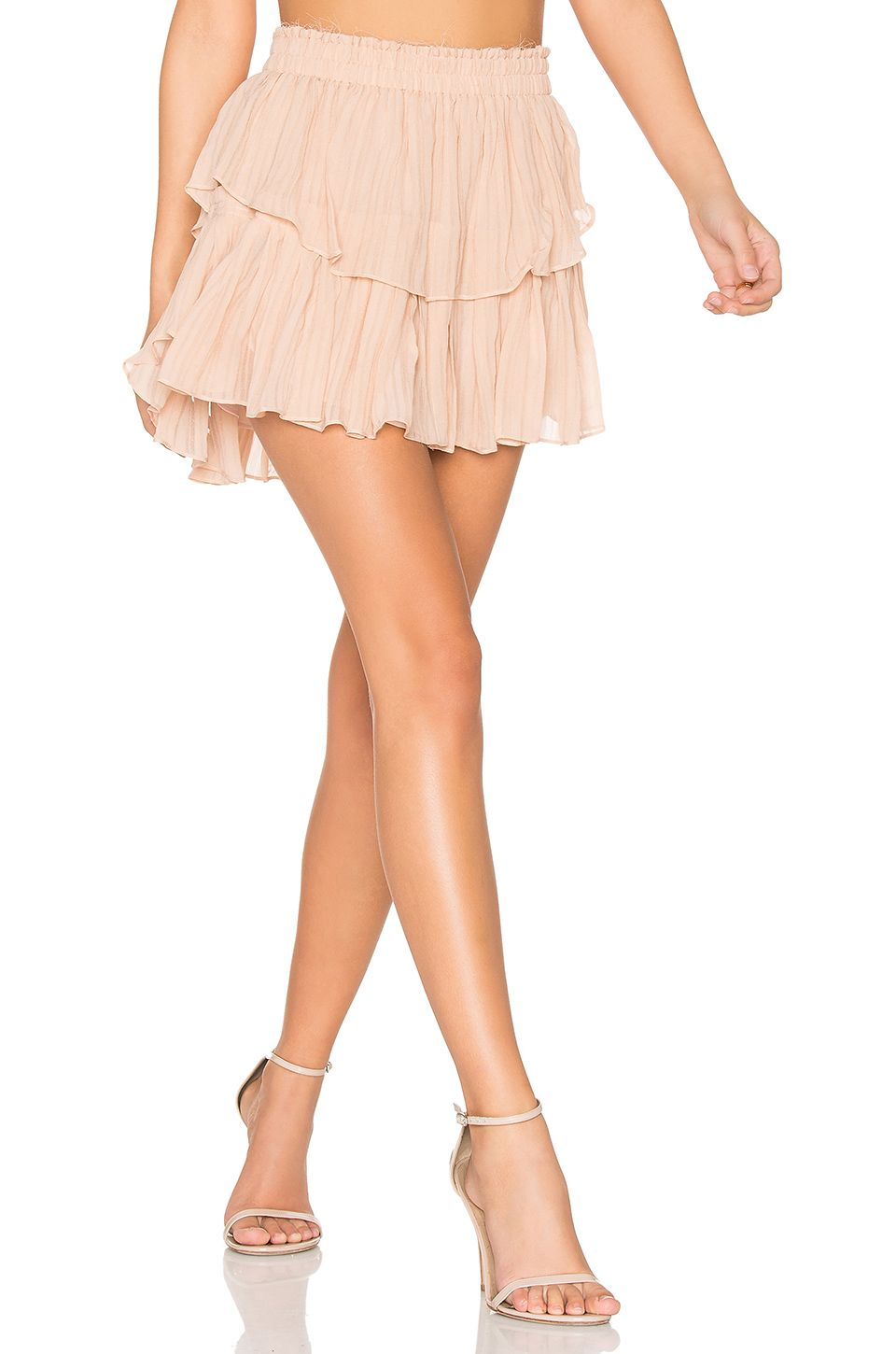 261f734fd LoveShackFancy Ruffle Mini Skirt in French Rose | Clothes in 2019 ...
