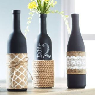 Wine Bottle Decorations Diy 24 Creative Ways To Repurpose Your Empty Wine Bottles  Wine