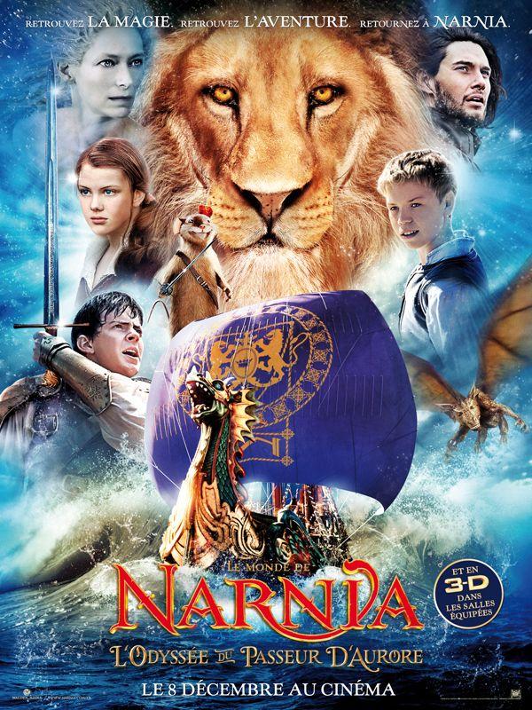 Le Monde De Narnia Films : monde, narnia, films, Monde, Narnia, L'Odyssée, Passeur, D'aurore, Narnia,, Fantastique