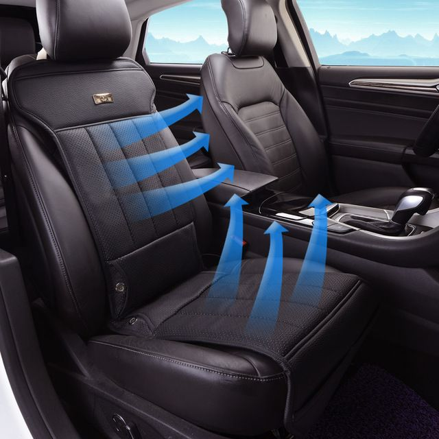 Leather Car Seat Electric Ventilation Fan Air Conditioning Seat