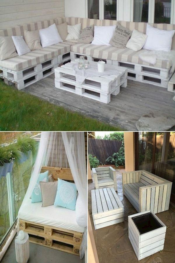 Pallet Sofa Garden Garden Seats Made From Pallets Pallet Furniture Design Plans In 2020 Pallet Furniture Pallet Furniture Designs Wooden Sofa Designs